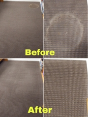carpet stain before and after photos