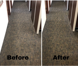 commercial carpet stain cleaning