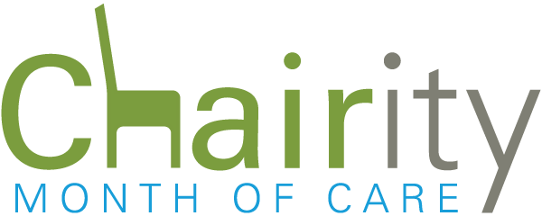 Chairity month of care logo