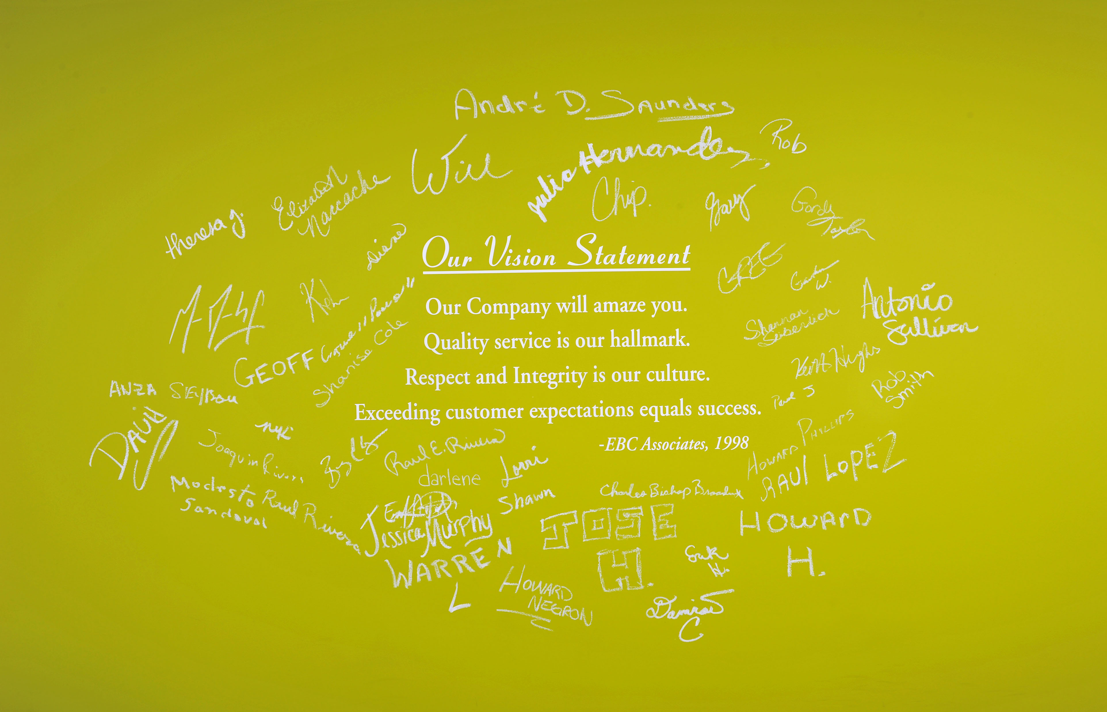 Our Vision Statement